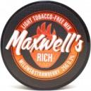 Смесь бестабачная для кальянов Maxwells 25гр Light rich (дыня и клубника) 0,3%