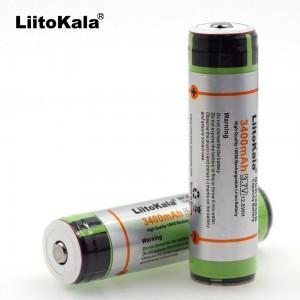 Liitokala 18650 3,7 В 3400mAh , защищенный